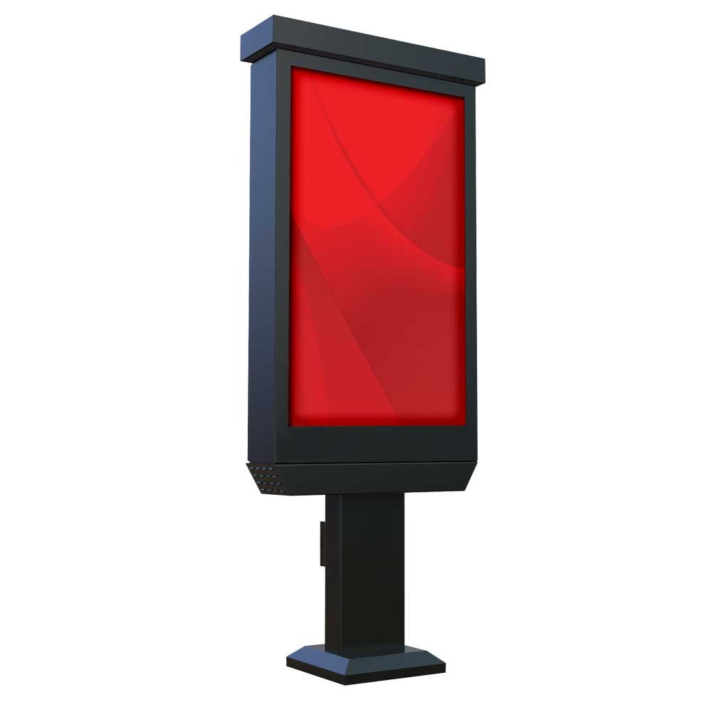 "47"" Outdoor Digital Pedestal Kiosk - Non Touch Screen"