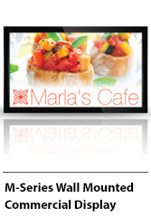 M Series Wall Mounted Commercial Display