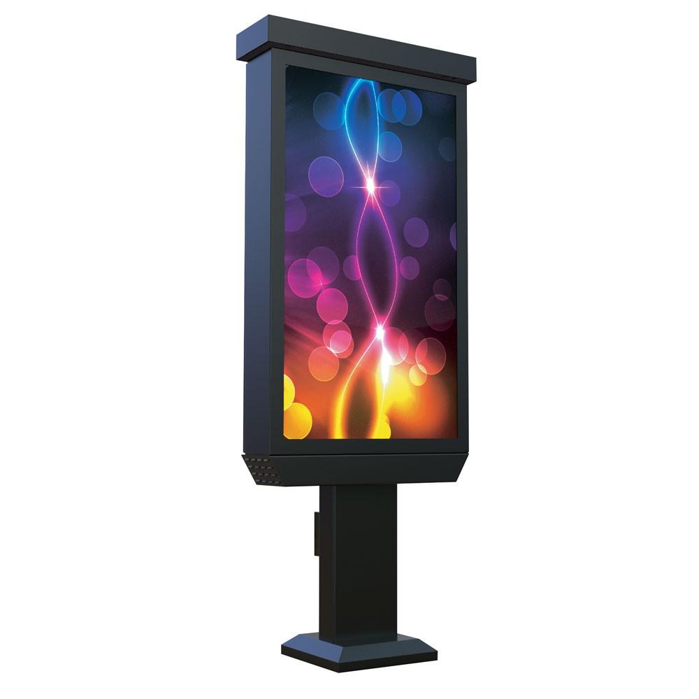 """55"""" Outdoor Digital Pedestal Kiosk - Non Touch Screen"""