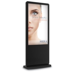 "55"" Freestanding Touchscreen Kiosk"