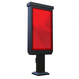 "55"" Outdoor Digital Pedestal Kiosk - Non Touch Screen"